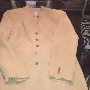 LIZ CLAIBORNE long jacket and wide pants😍😘😘😘